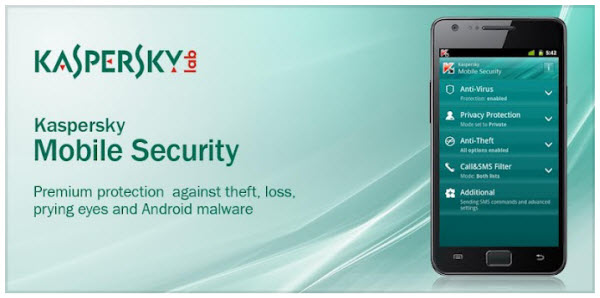 KasperSky Android mobiles