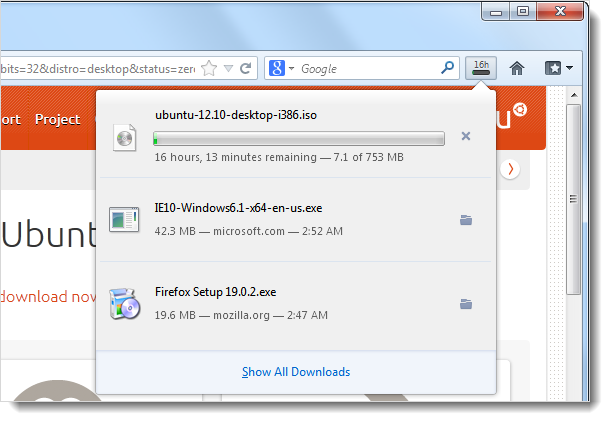 Firefox download manager pause resume